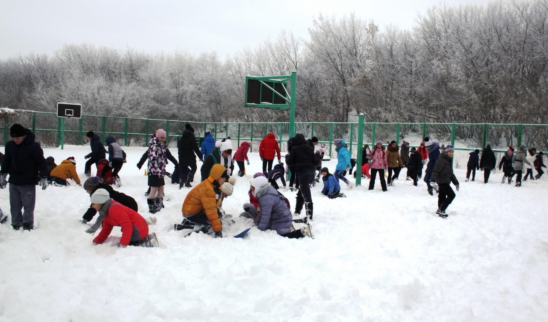 Итоги школьного этапа региональных соревнований зимней серии военно-спортивной игры «Зарница» среди обучающихся 5 – 9 классов. 7