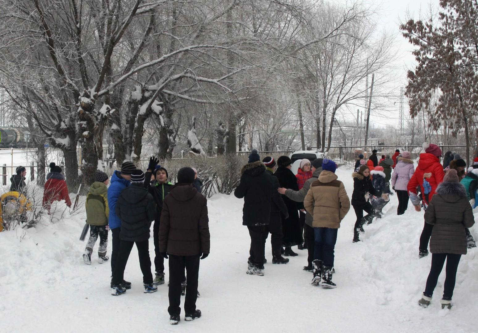 Итоги школьного этапа региональных соревнований зимней серии военно-спортивной игры «Зарница» среди обучающихся 5 – 9 классов. 8