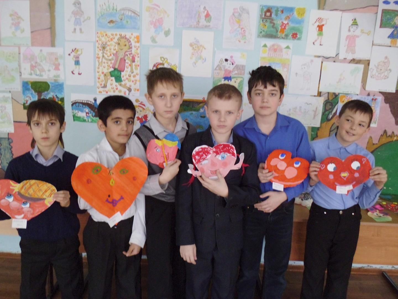 День Святого Валентина в нашей школе 3