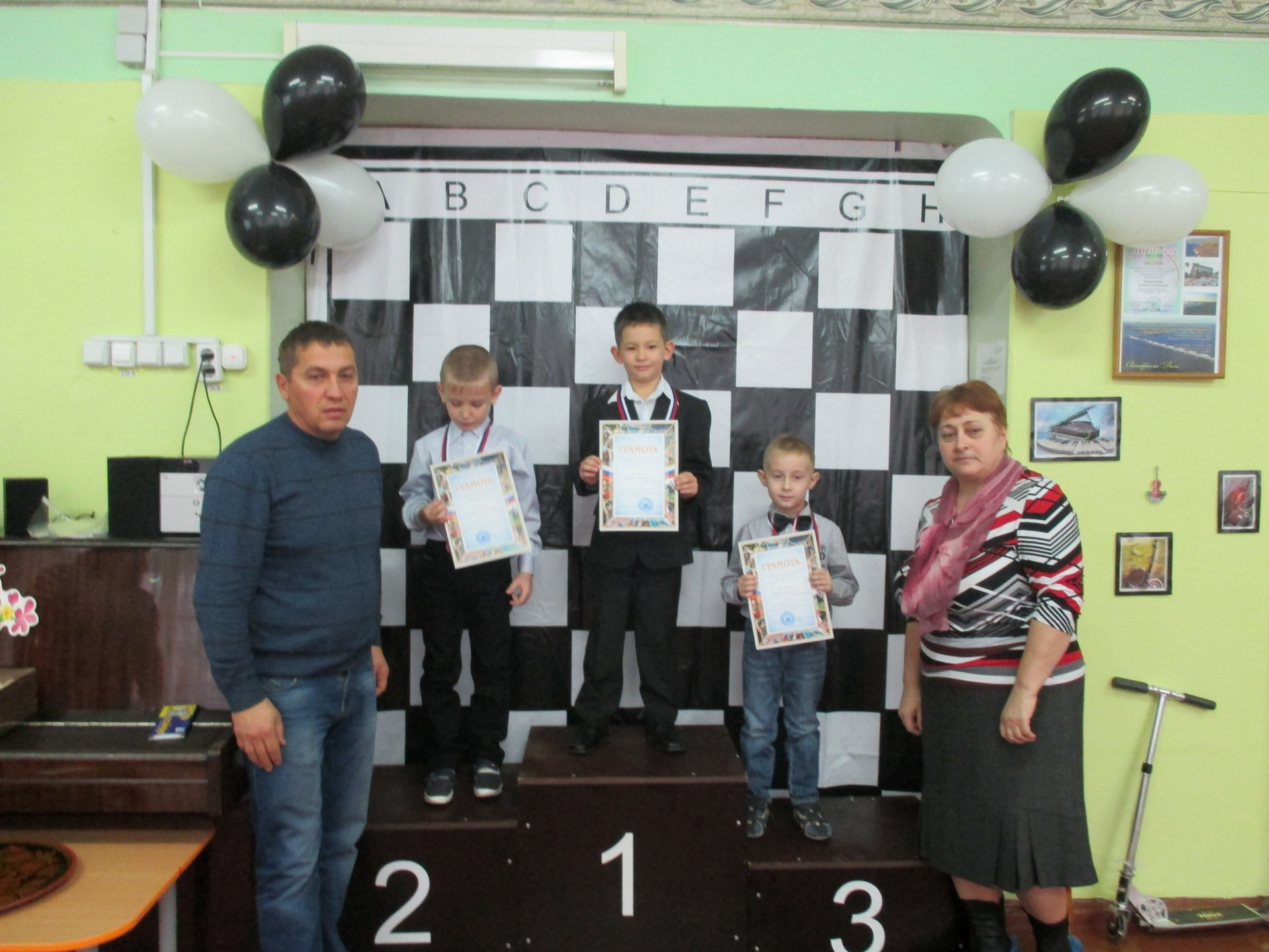 Городской турнир «Чудо шашки»