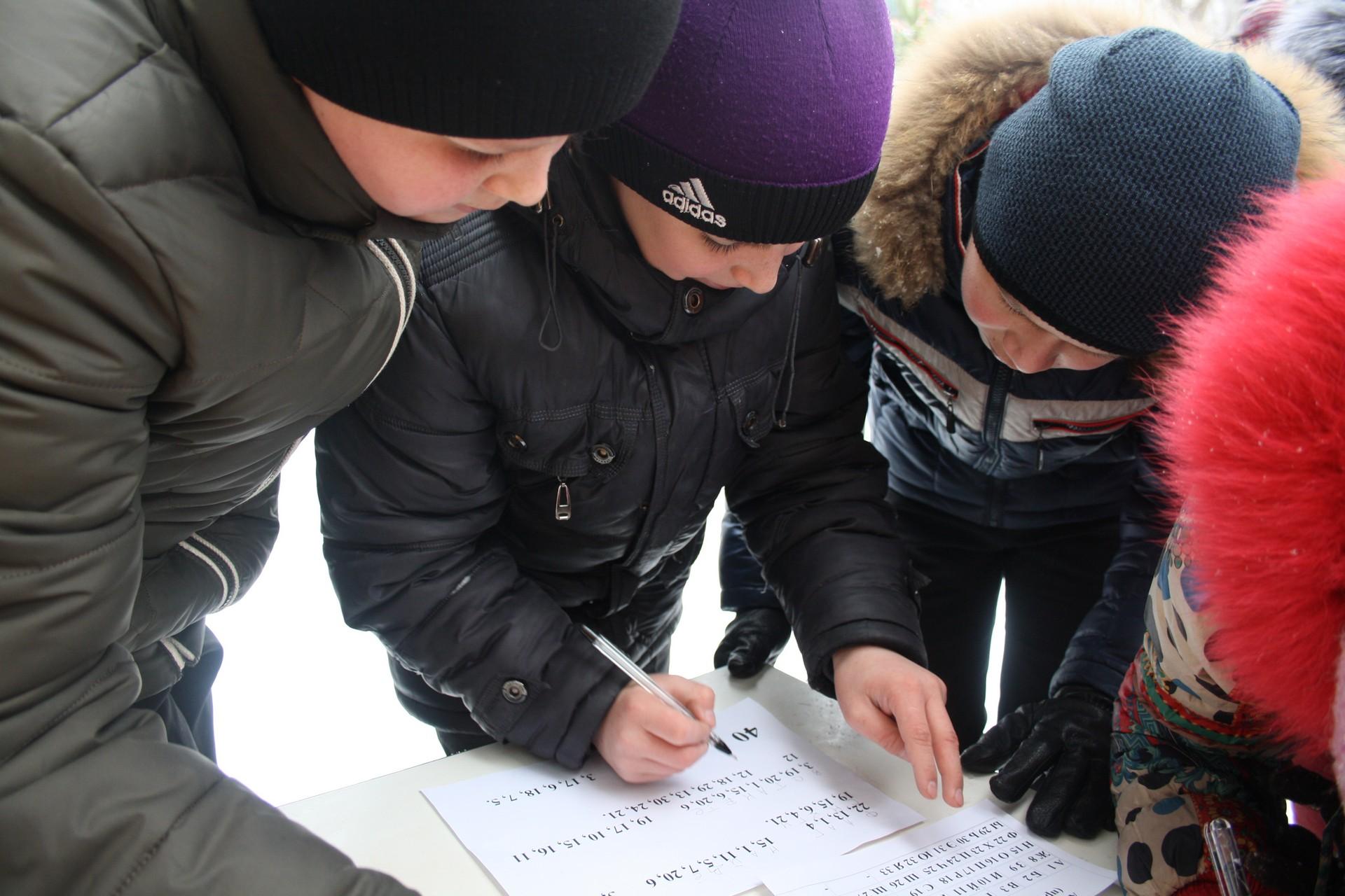 Военно-спортивная игра«Зарница»
