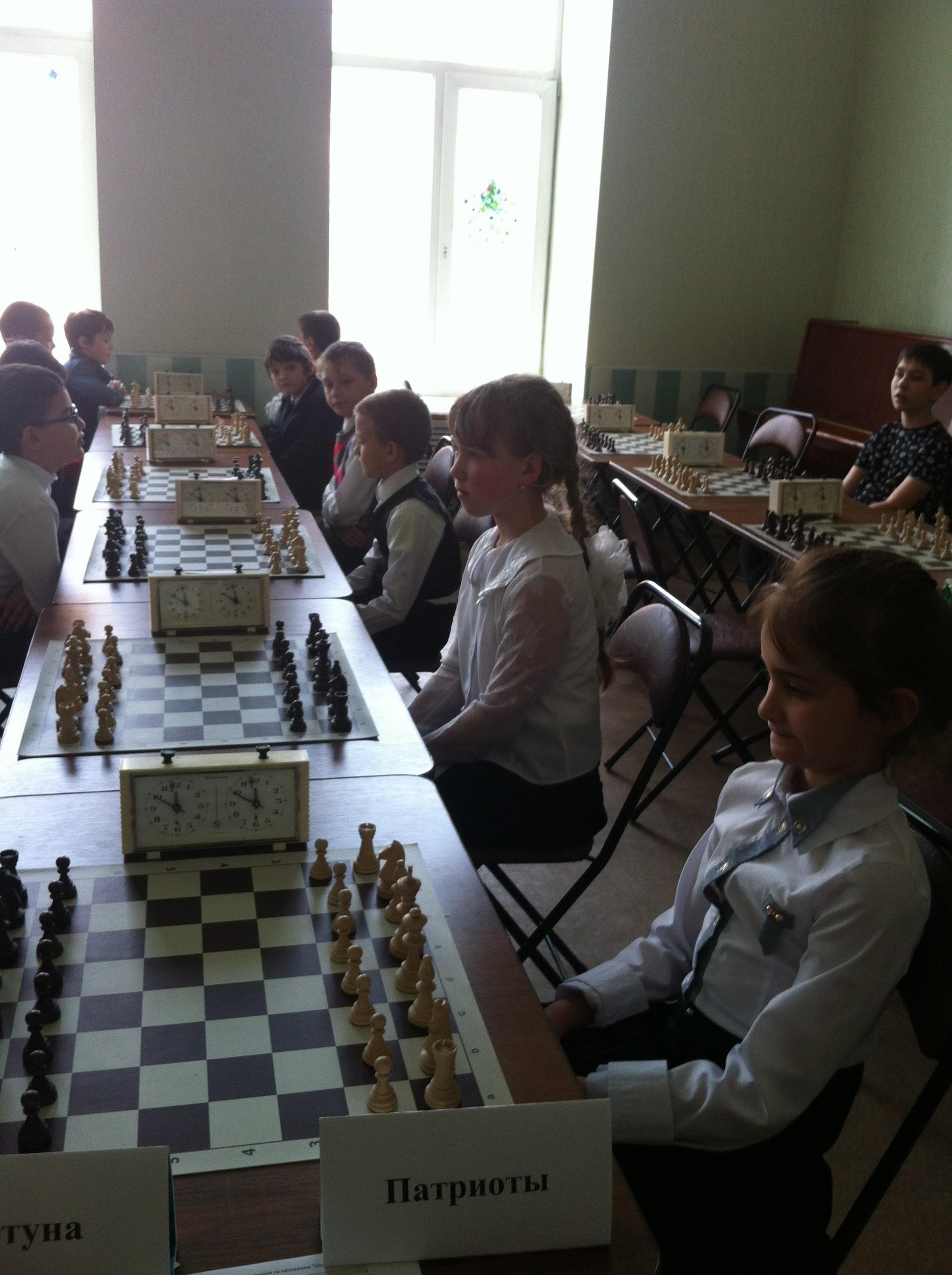 Областной шахматный турнир