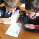 22 октября в 4 классе прошел классный час «Безопасное поведение школьников в сети Интернет»