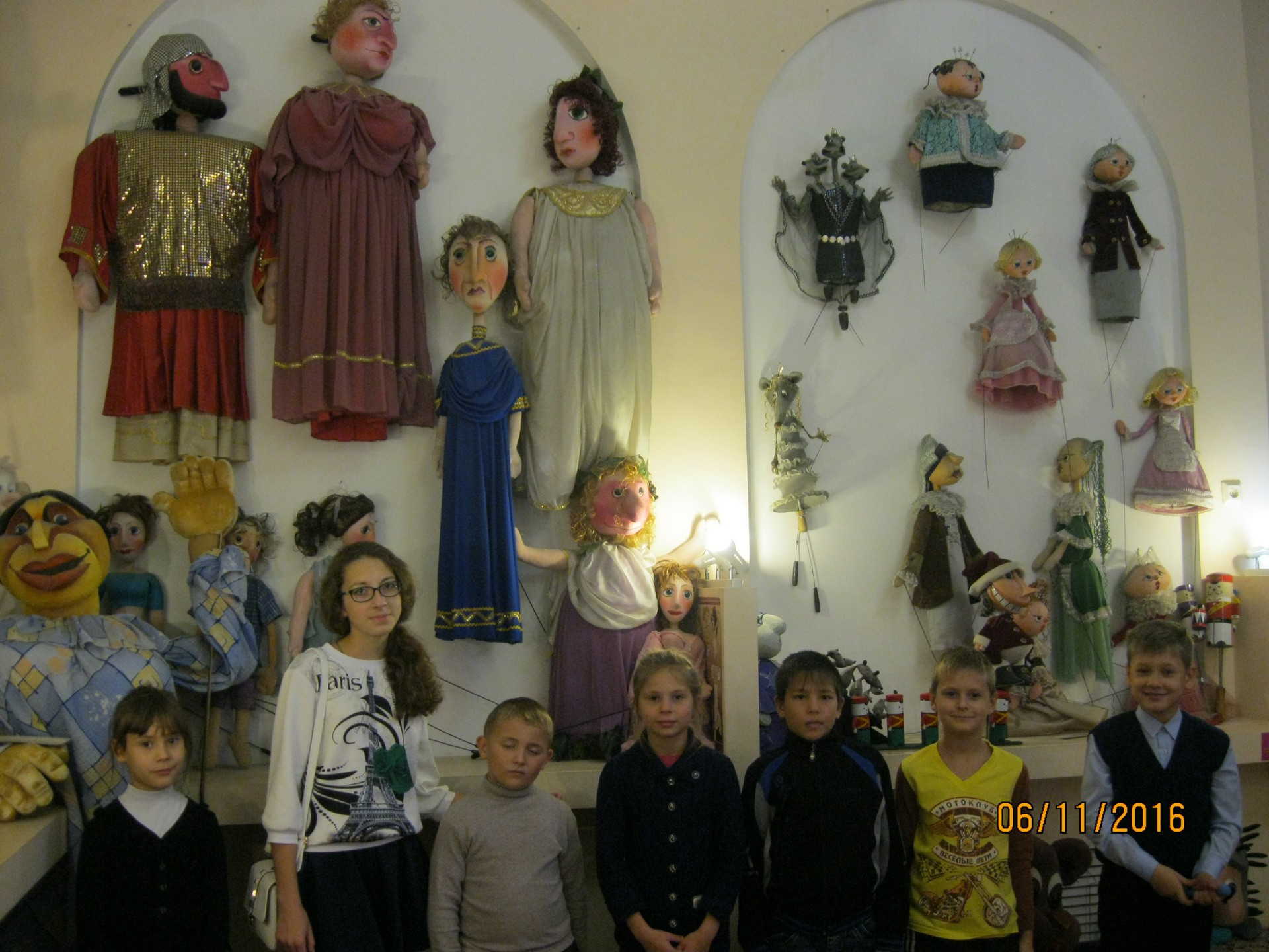 Экскурсия в Ульяновский театр кукол