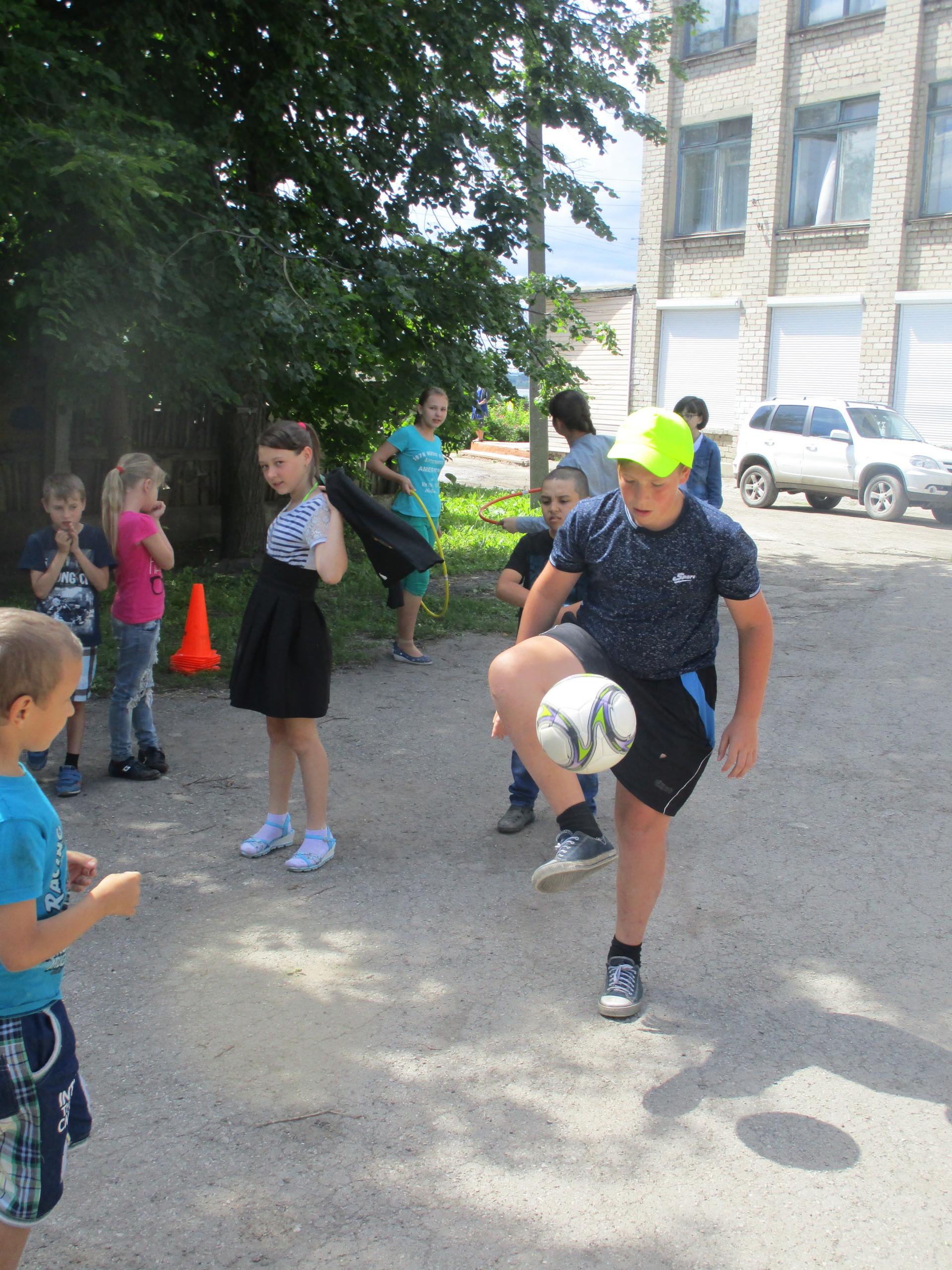 Олимпийский день в лагере «Солнышко»