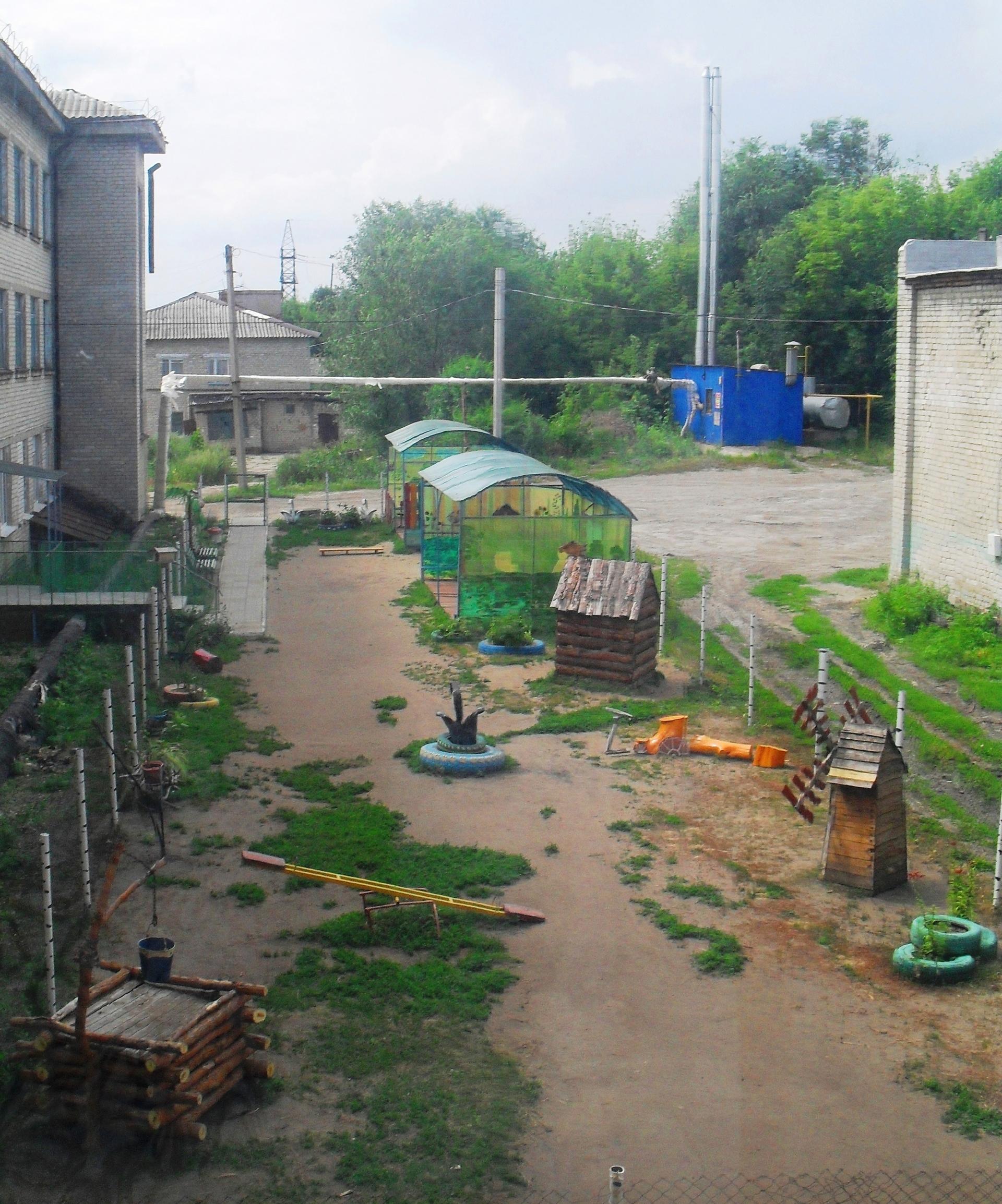 Окружной конкурс «Лучший школьный двор»